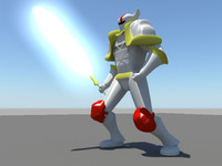 3d rigged knight fantasy medieval