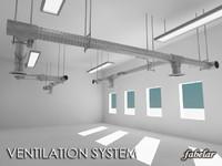 ceiling building 3d model