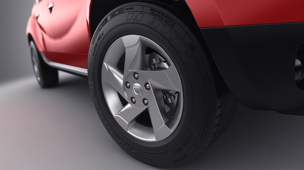 dacia duster 2010 3d model - Dacia Duster 2010... by JUVENILECL