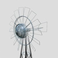 windmill farms 3d max