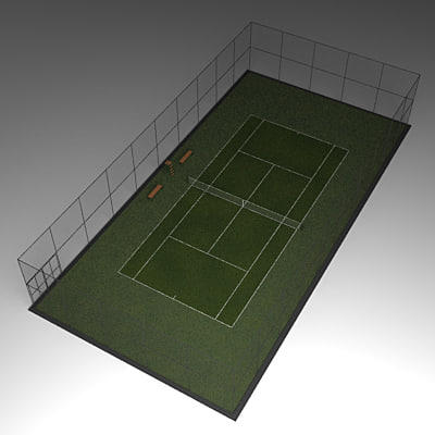 Tennis courts collection