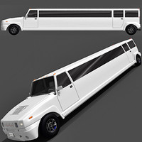 Hummer Limousine White