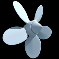 3d propeller watercraft