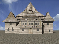 3ds max medieval building