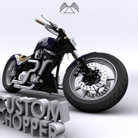 Custom Chopper 05