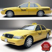 Crown Victoria Taxi