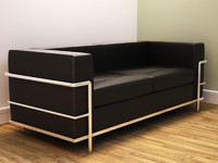 3d model modern grand comfort sofa le