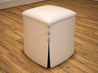 max arabian leather stool