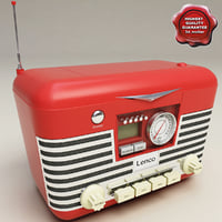 Retro Radio Lenco