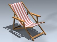 3ds beach chair