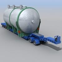 Heavy-haulage-tailer