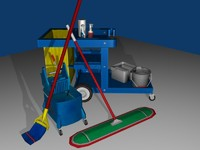3d pack mop bucket