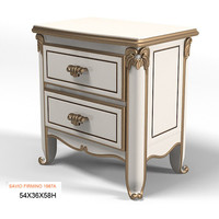 Savio Firmino classic 1987A CLASSICAL  BEDSIDE TABLE NIGHT STAND