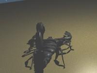 scorpion 3d blend