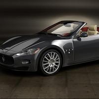 Convertible Car - Maserati GranCabrio