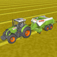 lightwave tractor farmer