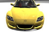 3d model mazda rx8 car