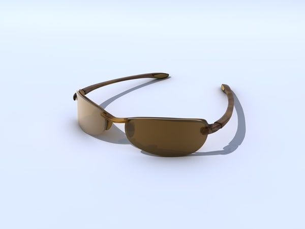 sunglasses mj sport 3d model - MJ Sport Sunglasses... by Eric Mousel