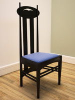 CR Mackintosh side chair