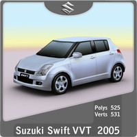 2005-2010 Suzuki Swift VVT