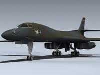 3d b-1b lancer penetrator model