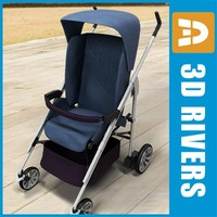 Blue stroller by 3DRivers