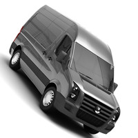 german van 3d model