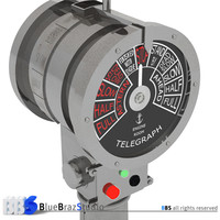 engine order telegraph 3d model