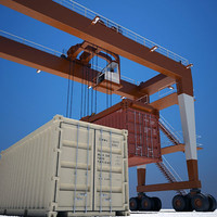 Crane & Shipping Containers