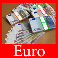 3d complete banknotes euro collectively