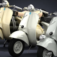 Classic Vespa Collection