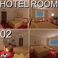 Hotel Guest Room 02