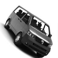 3d transporter van