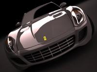 3d model ferrari 599 gtb