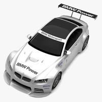 bmw m3 gtr concept car 3d x
