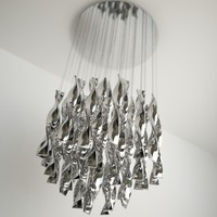 contemporary chandelier obj