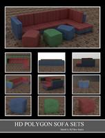 50013 Sofa Sets