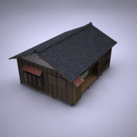 japanese building 3d lwo