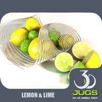 lemons lime 3d model