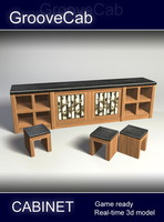 3dsmax cabinet table real