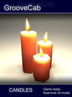 3d candles games