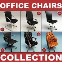 3ds max office chairs