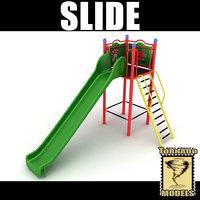 slide 3d obj