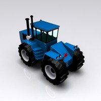 Pelican Harvester - Blue