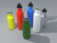 Canteen water bottles 2 sizes