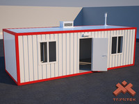 house shipping container 3d model