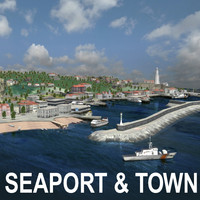 Urban City / Seaport &Town