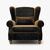 furniture armchair 3d model