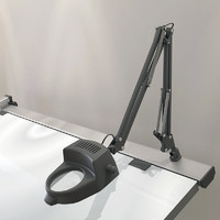 drafting swing arm magnifying 3d max