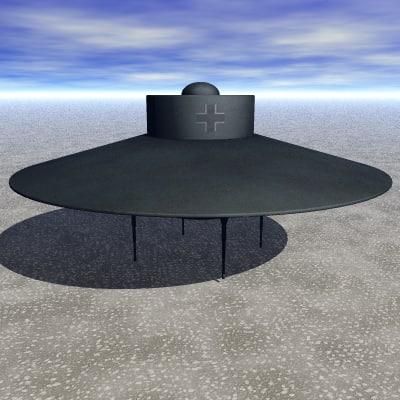 Vril 7 WW2 Nazi UFO